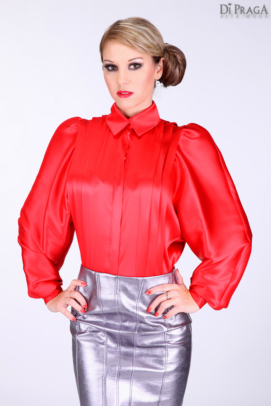 Women S Collared Blouse