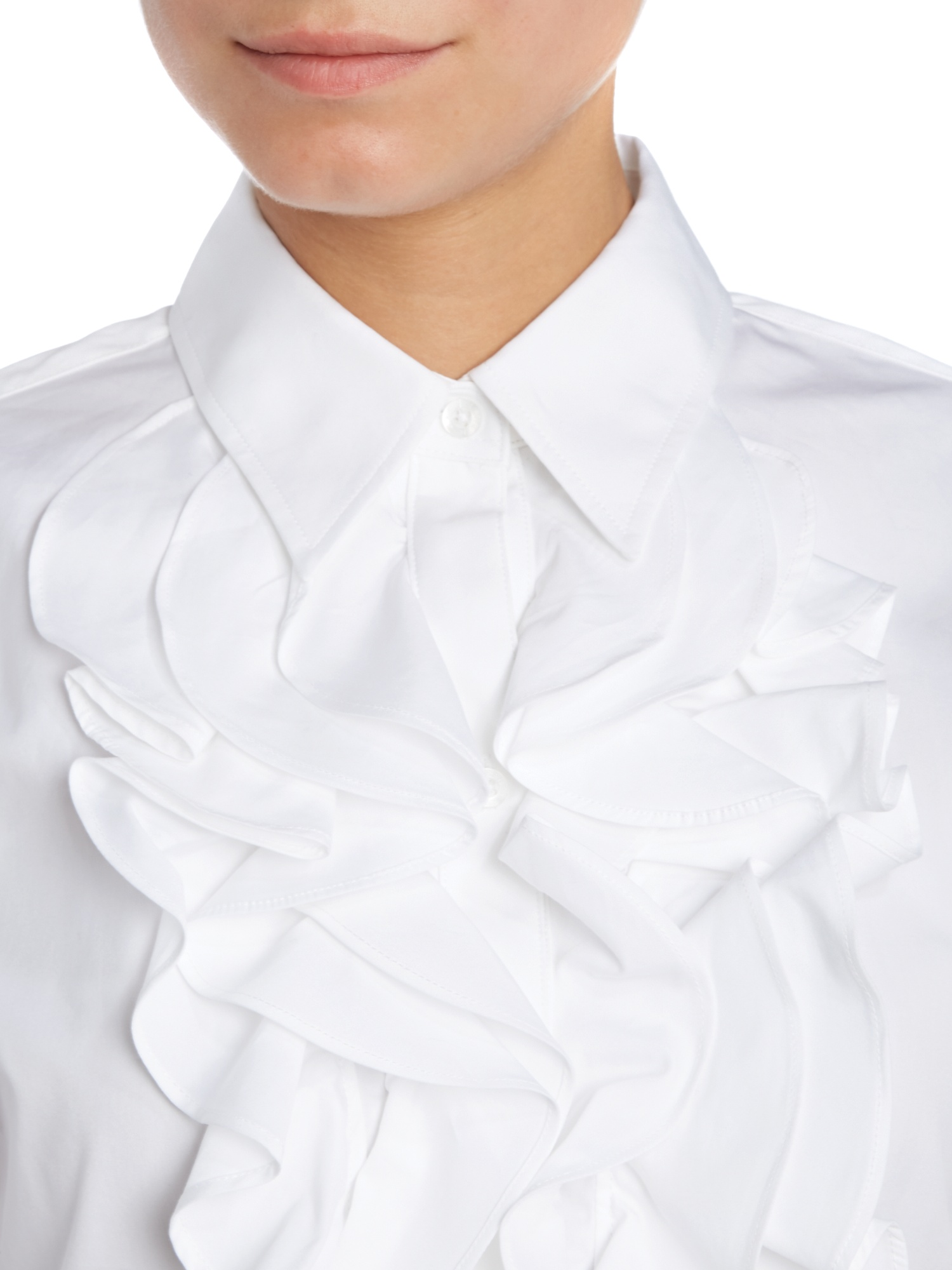 Sleeveless Blouses With Collars